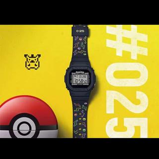 ベビージー(Baby-G)のBABY-G25周年記念 ピカチュウ コラボレーションモデル(腕時計(デジタル))