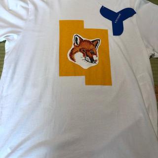 メゾンキツネ(MAISON KITSUNE')のadererror X maison kitsune  コラボT(Tシャツ/カットソー(半袖/袖なし))