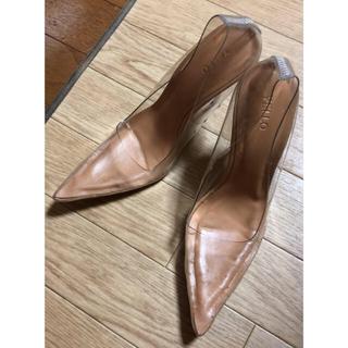 イエローブーツ(Yellow boots)のYELLO クリアヒール 22.5~23.0cm(ハイヒール/パンプス)