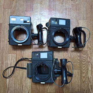 マミヤ(USTMamiya)のMamiya UNIVERSAL 2台 super 23 1台 ジャンク(フィルムカメラ)