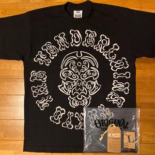 テンダーロイン(TENDERLOIN)の人気品! TENDERLOIN 半袖 Tシャツ ボルネオスカル ブラック 黒 L(Tシャツ/カットソー(半袖/袖なし))