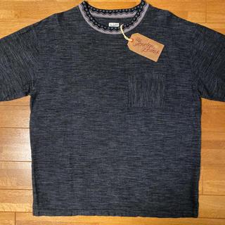 テンダーロイン(TENDERLOIN)の本店限定! TENDERLOIN 半袖 Tシャツ バハ チャコール グレー M(Tシャツ/カットソー(半袖/袖なし))