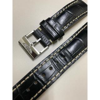 ブライトリング(BREITLING)のブライトリング純正尾錠 ベルト非純正 24ー20 使用少 美品(レザーベルト)