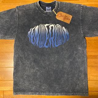 テンダーロイン(TENDERLOIN)の人気品! TENDERLOIN 半袖 Tシャツ アシッド ウォッシュ 紺 XL(Tシャツ/カットソー(半袖/袖なし))