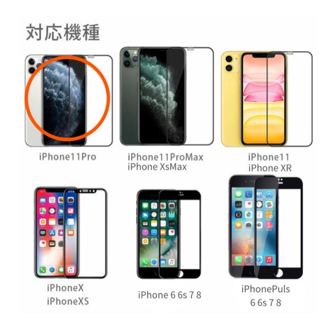 Gucci iPhone 11 Pro ケース アップルロゴ | iPhone - iPhone  11pro 全面保護フィルム 強化ガラスの通販 by ARAW at BUWAN (株)|アイフォーンならラクマ