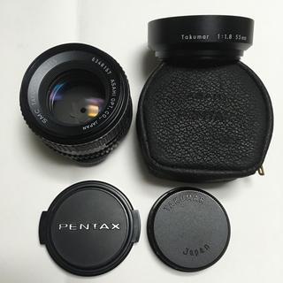 ペンタックス(PENTAX)の美品 PENTAX SMC TAKUMAR 55mm F1.8 純正CAPフード(レンズ(単焦点))