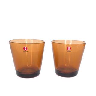 イッタラ(iittala)のittala イッタラ Kartio ブラウン 2個セット(グラス/カップ)