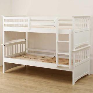 ニトリ(ニトリ)の二段ベッド+引出しベッド(3人就寝可能)(ロフトベッド/システムベッド)