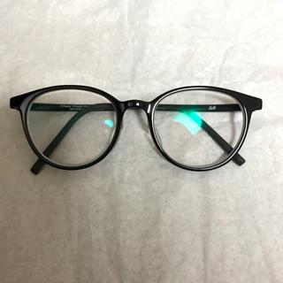 ゾフ(Zoff)のZOFF メガネ ボストン型 黒(サングラス/メガネ)
