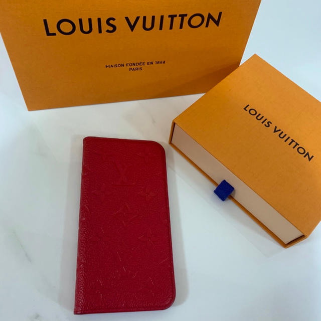 LOUIS VUITTON - louisvuitton ルイヴィトン iPhone X XS ケース フォリオの通販