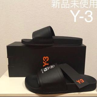 ワイスリー(Y-3)の【新品未使用】Y-3 ワイスリー シャワーサンダル(スニーカー)