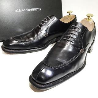【alfredoBANNISTER】約25.0cm ビジネスシューズ 革靴 男