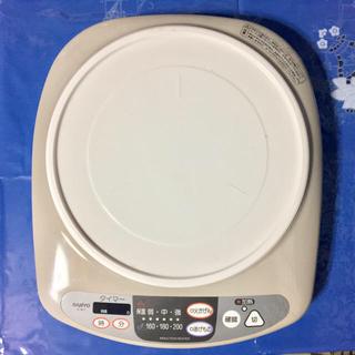 サンヨー(SANYO)のSANYO IH調理器 IC-BF1 (取説付)(調理機器)