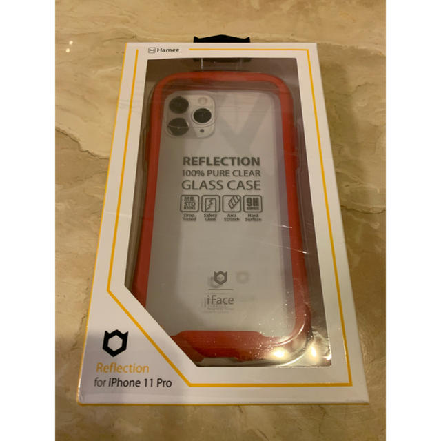ルイヴィトン iPhone カバー - 専用 Face リフレクション クリアレッド iPhone 11Proの通販 by kotamilk SHOP|ラクマ