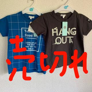 サンカンシオン(3can4on)のサンカンシオン 子供Tシャツ 110センチ2枚(Tシャツ/カットソー)