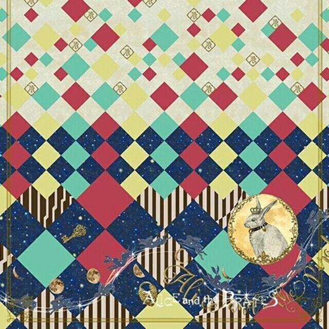 ALICE and the PIRATES(アリスアンドザパイレーツ)のアリパイ Escape~月夜の囚われ兎~ 柄SK レディースのスカート(ひざ丈スカート)の商品写真
