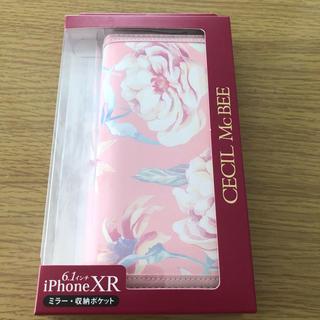 セシルマクビー(CECIL McBEE)のI phone case XR(iPhoneケース)