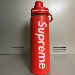 シュプリーム(Supreme)のSupreme vacuum bottle 水筒 中古品(水筒)
