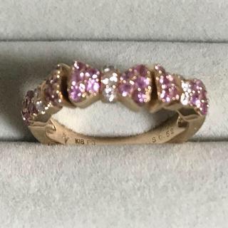 ポンテヴェキオ(PonteVecchio)のポンテヴェキオ 10号 ピンクゴールド リボンモチーフ リング指輪(リング(指輪))