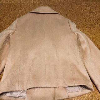 エムプルミエ(M-premier)の光沢の美しいモヘアウールのジャケット(テーラードジャケット)