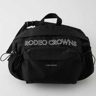 ロデオクラウンズワイドボウル(RODEO CROWNS WIDE BOWL)の新品未使用ブラック ※折り畳み圧縮梱包にて配送します。あらかじめ御了承ください。(その他)