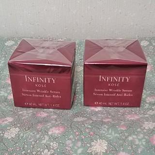 インフィニティ(Infinity)のちるる様専用 コーセー インフィニティ インテンシブ リンクル セラム 2箱(美容液)