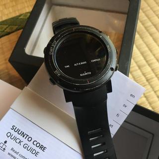 スント(SUUNTO)のSUUNTO 腕時計 Deep Core Black(登山用品)