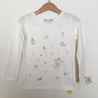 ボンポワン(Bonpoint)のbonpointボンポワン  ロングTシャツ 4A(Tシャツ/カットソー)