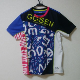 ゴーセン(GOSEN)のGOSENテニスウェアTシャツ(ウェア)