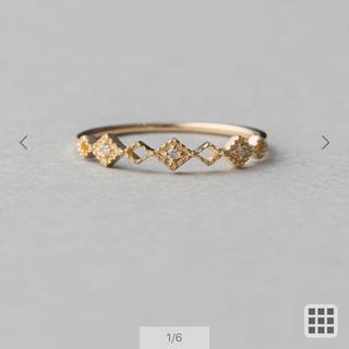 エテ(ete)のete 10kダイヤモンドリング(リング(指輪))