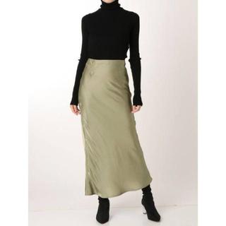 ラグナムーン(LagunaMoon)のLAGUNAMOON サテンスカート(ロングスカート)