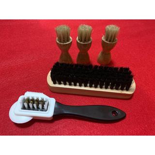 リーガル(REGAL)のスエード対応ブラシ 組み合わせ自由 靴磨き5点セット(その他)
