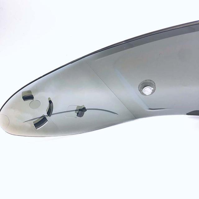 CWR-F ピンロックミラーシールド ダークスモーク/レッド   自動車/バイクのバイク(ヘルメット/シールド)の商品写真