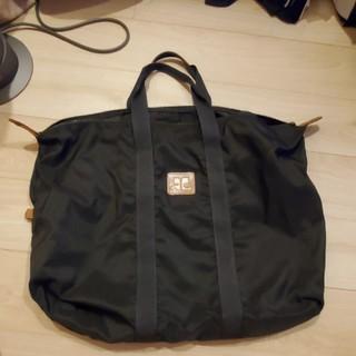 クレージュ(Courreges)のクレージュ黒バッグ 内ポケットあり(ボストンバッグ)
