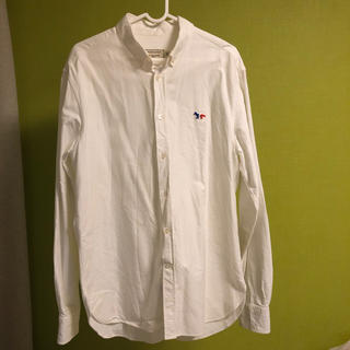 メゾンキツネ(MAISON KITSUNE')のメゾンキツネ 白シャツ(シャツ)
