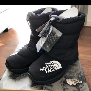 THE NORTH FACE - ノースフェイス ブーツ  ヌプシ ダウン ブーティー  KK   25