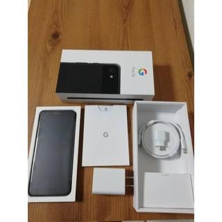 アンドロイド(ANDROID)のGoogle pixel 3a Just Black ☆新品未使用品(スマートフォン本体)