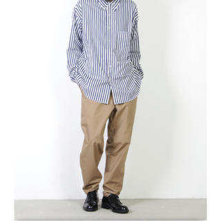コモリ(COMOLI)のgraphpaper 19ss Typewriter Cook Pants(チノパン)