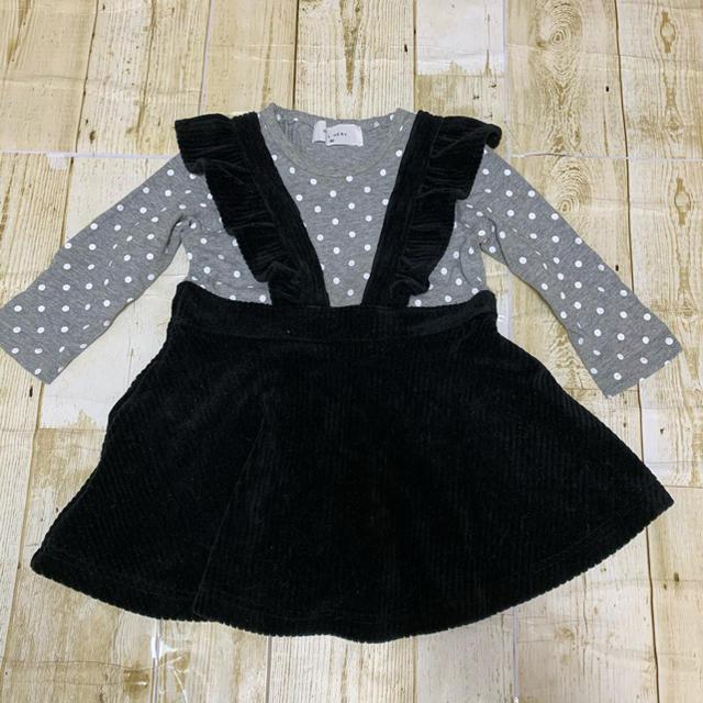 WILL MERY(ウィルメリー)のウィルメリー 未着用 ワンピース キッズ/ベビー/マタニティのベビー服(~85cm)(ワンピース)の商品写真