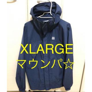 エクストララージ(XLARGE)のSサイズ エクストララージ XLARGE マウンテンジャケット ネイビー 中古品(ナイロンジャケット)