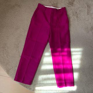 ユナイテッドアローズ(UNITED ARROWS)のユナイテッドアローズ ピンク パンツ(クロップドパンツ)