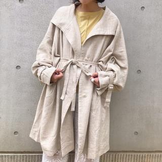 Kastane - kastane リネンデザインハーフジャケット 新品タグ付き