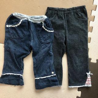 ビケット(Biquette)の90cm セット まとめ売り 女の子 ボトムス パンツ 長ズボン(パンツ/スパッツ)