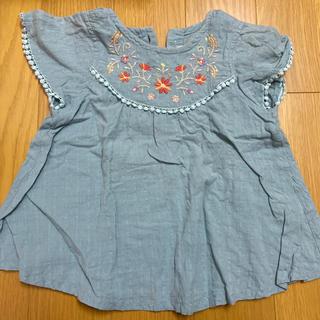 ビケット(Biquette)の90 花刺繍 キムラタン(Tシャツ/カットソー)
