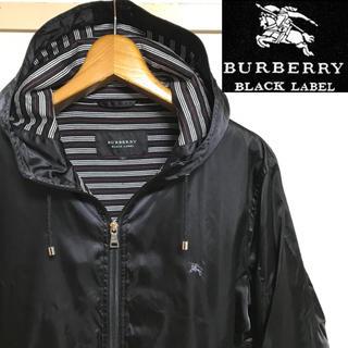 バーバリーブラックレーベル(BURBERRY BLACK LABEL)の希少!BURBERRYバーバリーブラックレーベホースマーク マウンテンパーカー(マウンテンパーカー)