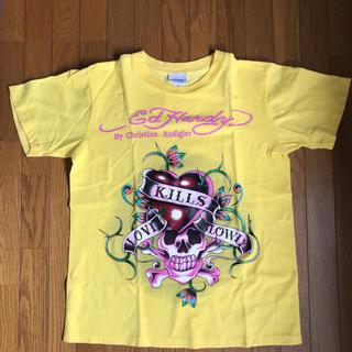 エドハーディー(Ed Hardy)のエドハーディ Tシャツ カラー イエロー サイズ M(Tシャツ(半袖/袖なし))