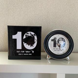 カトゥーン(KAT-TUN)のKAT−TUN 目覚まし時計(アイドルグッズ)
