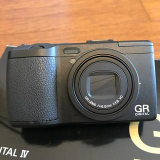 リコー(RICOH)のRICOH GR リコー デジタル 4(コンパクトデジタルカメラ)