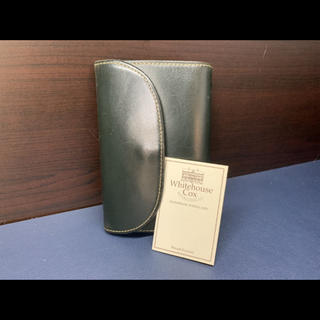 ホワイトハウスコックス(WHITEHOUSE COX)のWhitehouse Cox ホワイトハウスコックス ブライドルレザー 三つ折り(折り財布)