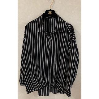 ワコール(Wacoal)のストライプ ボーダーシャツ(シャツ/ブラウス(長袖/七分))